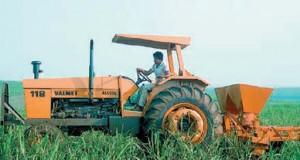 Alkoholbetriebene Traktoren