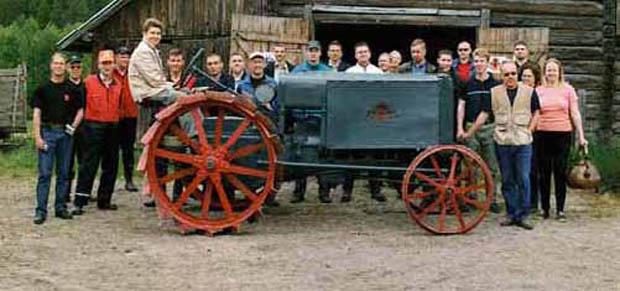 Kullervo erster finnischer Traktor