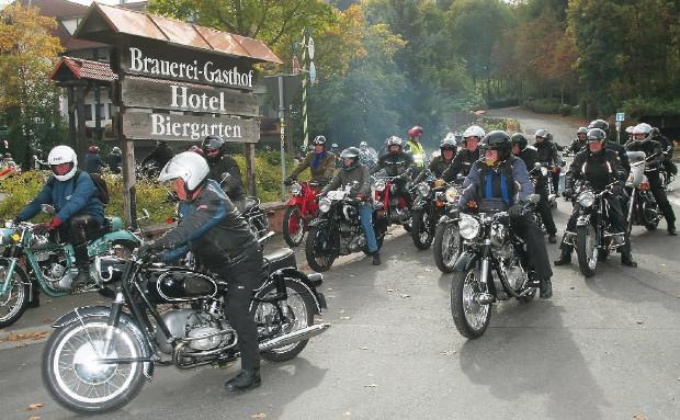 Motorradwochenende