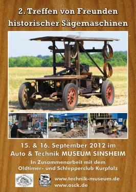 Historische Sägemaschinen