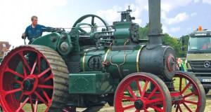 Seltene Dampfmaschinen in Aktion