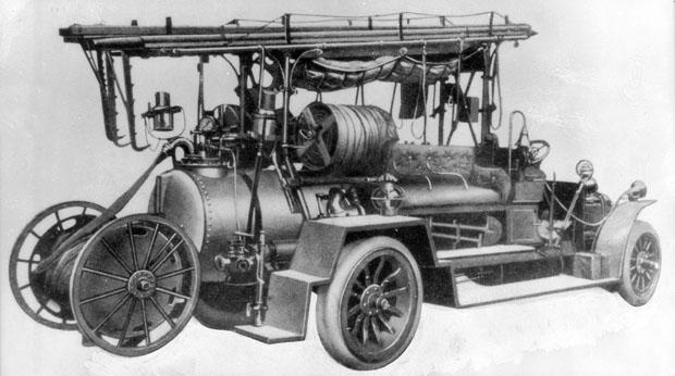 SAG Feuerlösch-Gasspritze Typ Grunewald