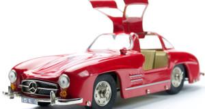 Die Modellautos des SL-Sportwagen