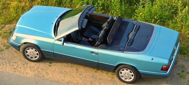 w124 e klasse das mercedes benz cabrio als 4 sitzer. Black Bedroom Furniture Sets. Home Design Ideas