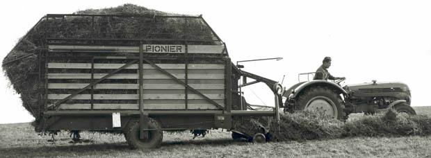 Ladewagen Poettinger Pionier