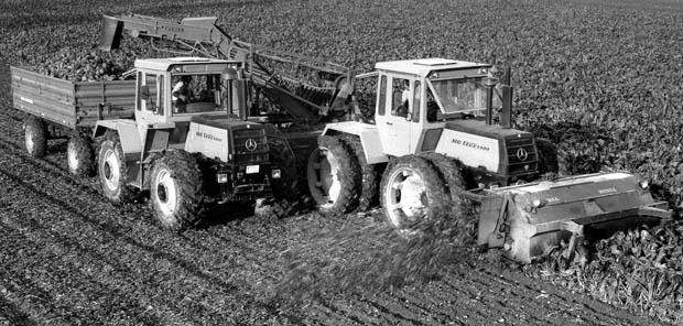 MBtrac Traktor