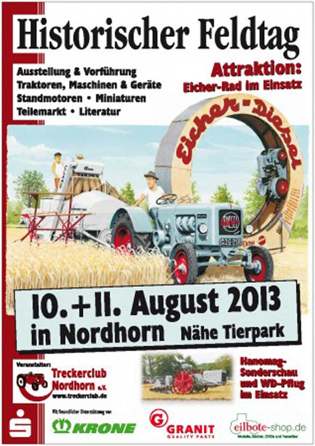 Historische Feldtag in Nordhorn