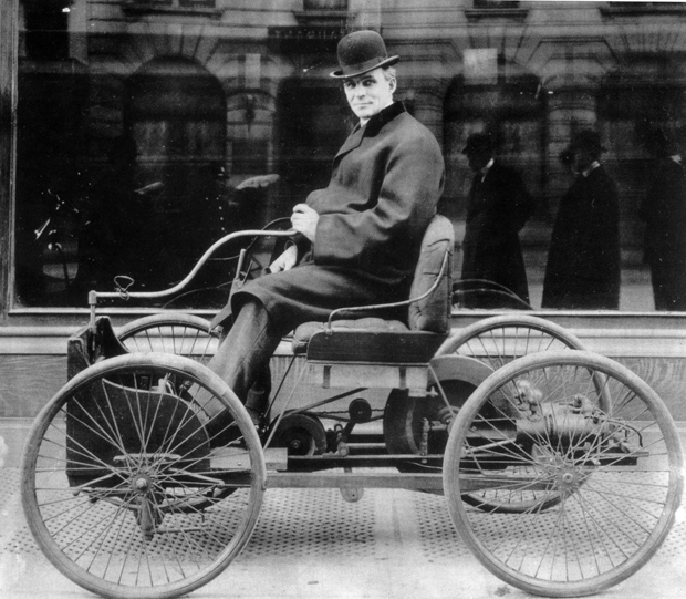 Henry-Ford-mit-Quadricycle