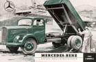 Der L 6600 von Daimler-Benz ein Schwer-LKW nach dem Krieg