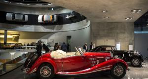 Mercedes-Benz Museum Auktion 2015 in Stuttgart