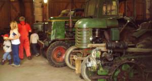 Traktoren aus der Sammlung des Museumsdorfes
