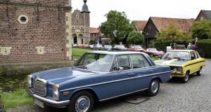 Oldtimer Baumberger Gruppe fährt zum Schloss Raesfeld