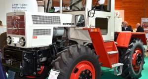 Historische Landtechnik auf der Agritechnica 2015