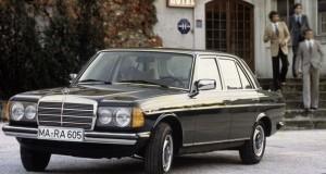 40 Jahre Mercedes-Benz Baureihe W123