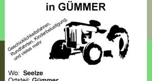 6. Treckertreffen in Gümmer