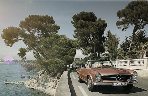 Nostalgic Nizza Reise Mercedes