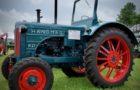 Oldtimer Traktoren auf der Ausstellung Land Tage Nord 2017