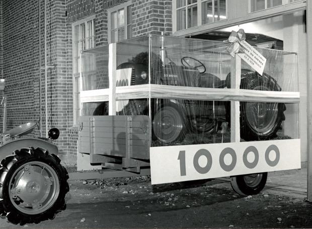 Der 10.000 Valmet Traktor 1958