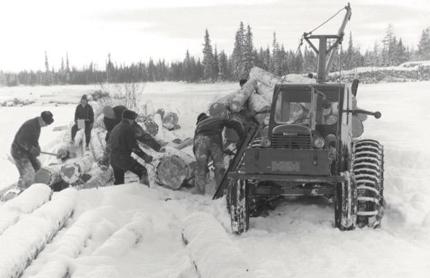 Valmet D33 in Lappland
