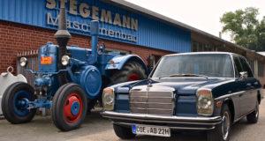50 Jahre Mercedes-Benz W114 Strich-Acht