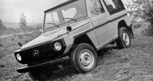 Der Geländewagen-Klassiker Mercedes-Benz G-Klasse wird 40 Jahre