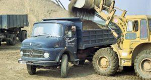 Welterfolg 1959 mit kurzer Haube Mercedes-Benz Lastwagen