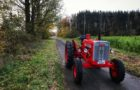 November Ausfahrt mit dem Oldtimer Trecker