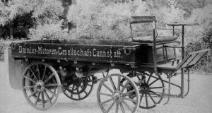 Der weltweit erste Lastwagen von 1896